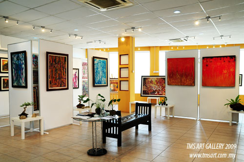 Finally TMS Art Gallery was settled down in TMS Art Centre in 2008, December.