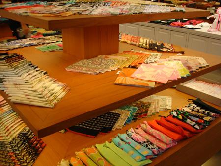 Jim Thompson Fabric store in Bangkok