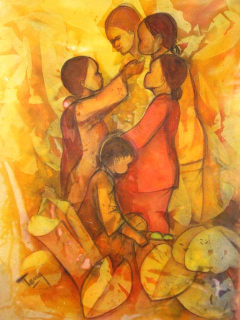 late chua siew teng painting
