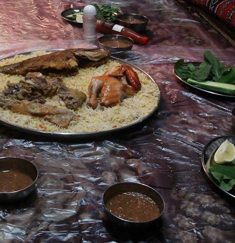 Dubai traditional food for Arabic cuisine in dubai
