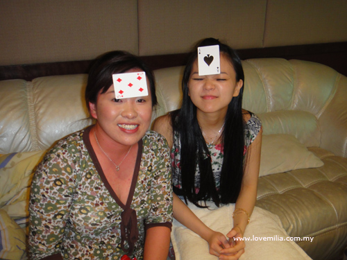 siao shi and me.. guess who will win ?
