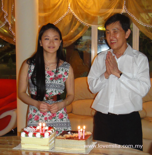 party girl with daddy