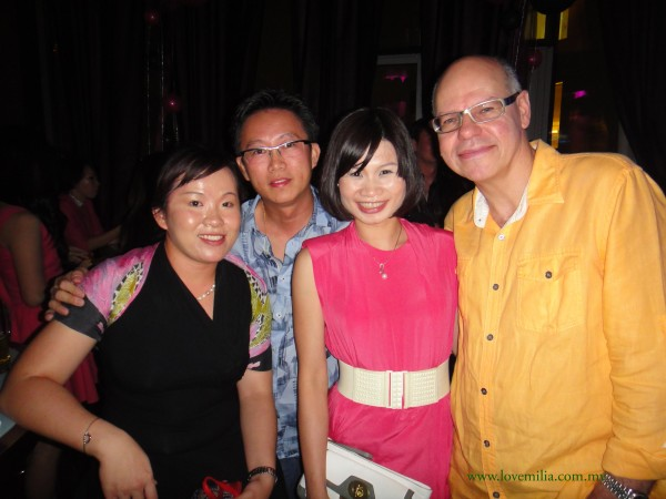me, lai, wai yee & frank at zhuling birthday party